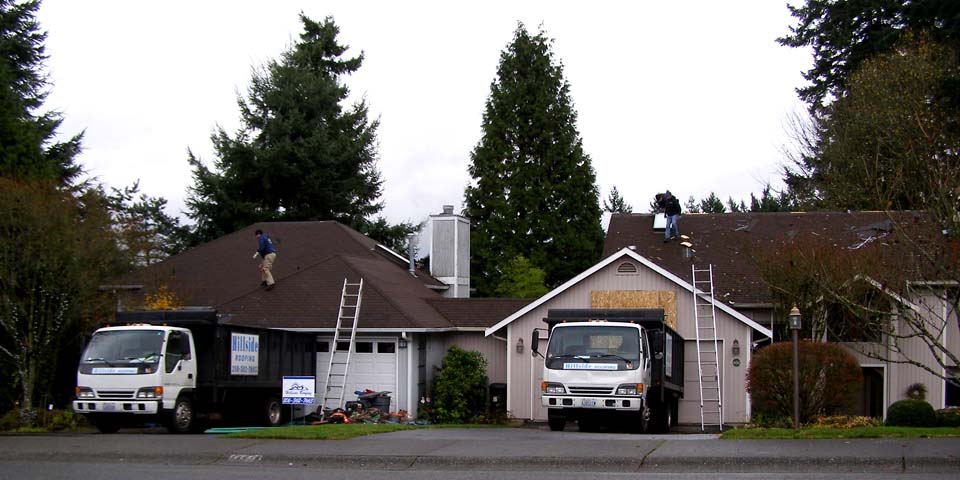 Hillside Roofing