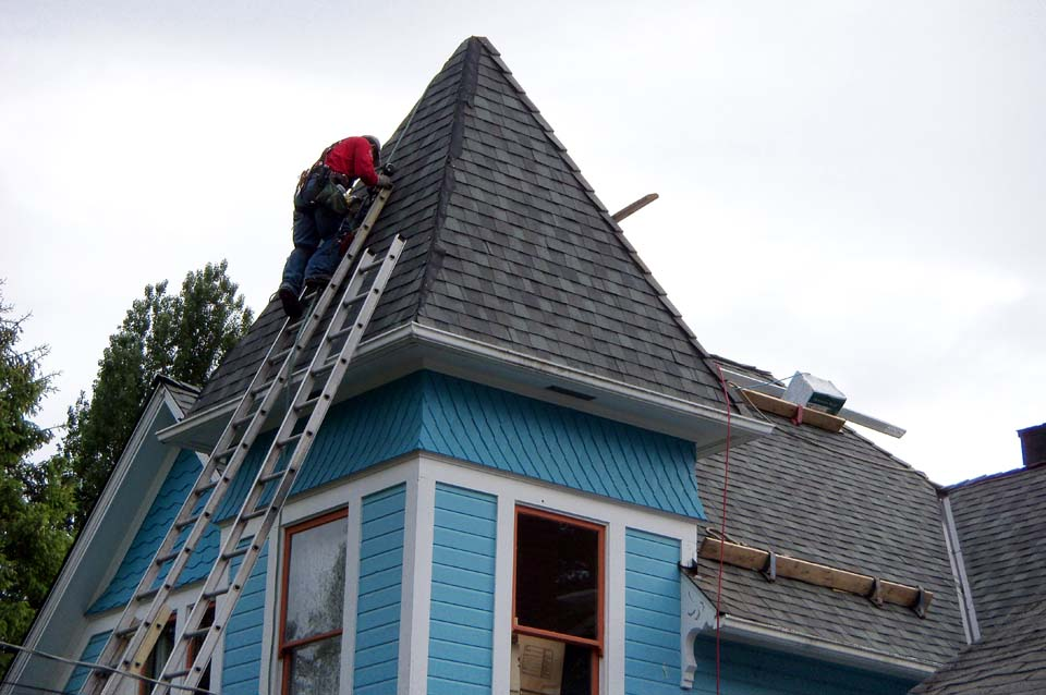 victorian roofing by Hillside Roofing
